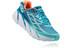 Hoka W's Clifton 3 Shoes BLUE JEWEL/NEON CORAL